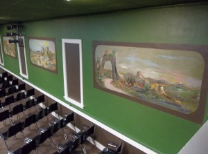Breckenridge Mural, Old Town Hall Theater, Medora, ND
