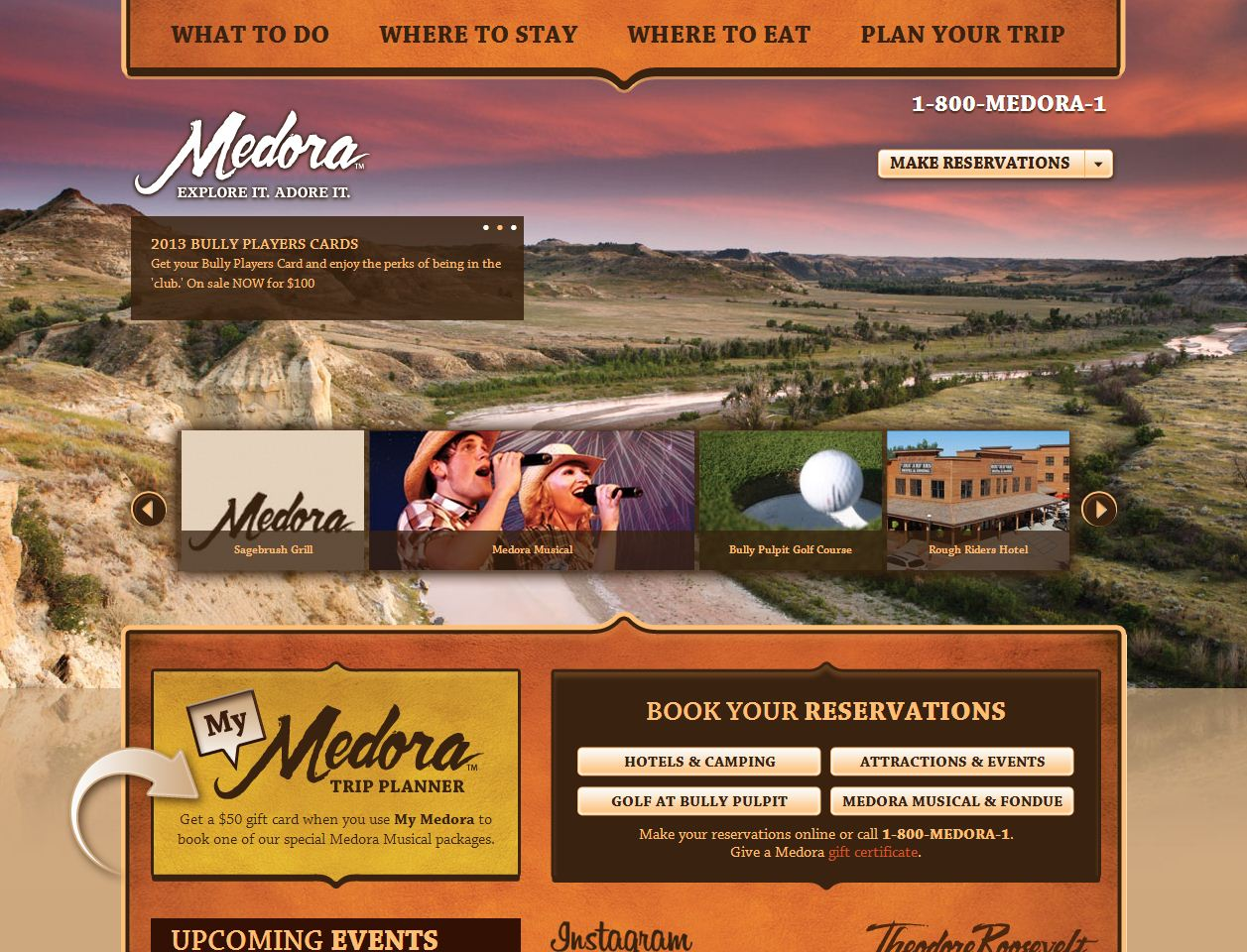 New User-Friendly Medora Website