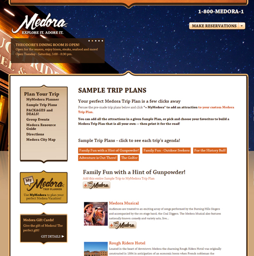 Going crazy planning your Medora vacation? We are here to help!