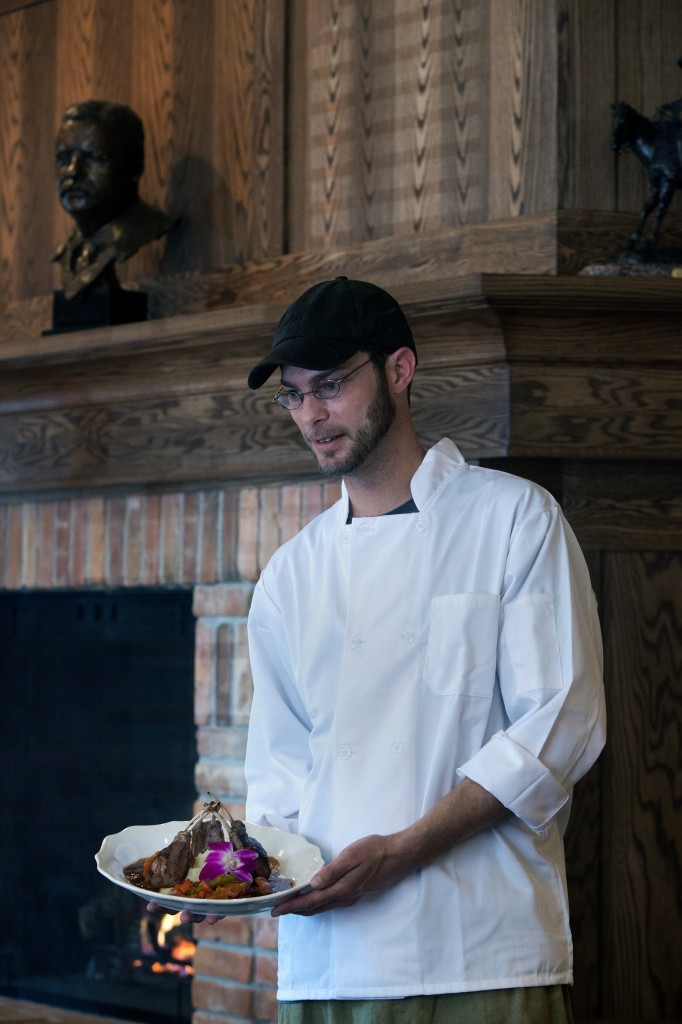 An interview with Theodore's Executive Chef Aaron Bank