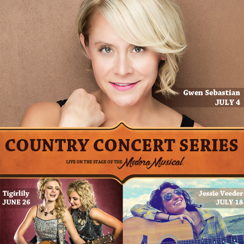Gwen Sebastian Headlines Country Lineup in Medora