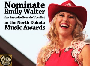 Nominate Medora's Emily Walter for the North Dakota Music Award's Favorite Female Vocalist Award