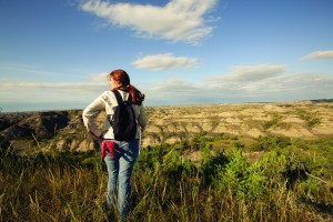 Hike in Theodore Roosevelt National Park